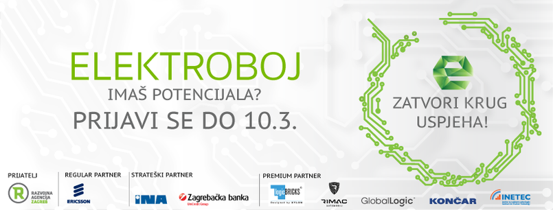 INETEC has recognized the importance of involving students in the competition named ELEKTROBOJ