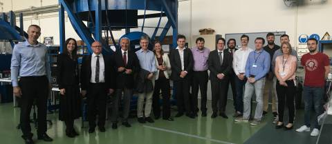 Experts from CERN have visited INETEC