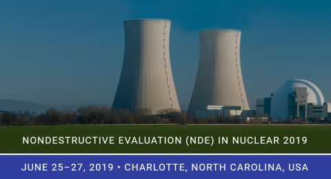 Conference NDE in Nuclear 2019