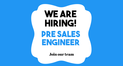 Open position- Pre-sales engineer (m/f)