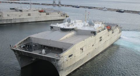 USNS Yuma HX Inspection