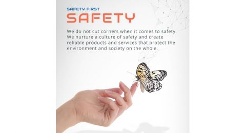 Our Values- Safety First