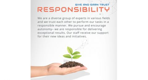 Our Values- Responsibility